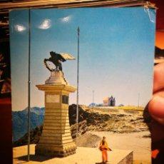 Postales: POSTAL VENEZUELA MONUMENTO EN EL PICO EL ÁGUILA 4100 M.LOS ANDES 1974 ESCRITA Y SELLADA ESQUINAS TOC. Lote 198614230