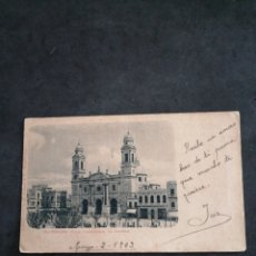 Postales: URUGUAY MONTEVIDEO, ANTIGUA POSTAL 1903. Lote 198618253