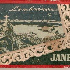 Postales: RIO DE JANEIRO BLOCH AÑOS 40 CON 8 POSTALES. Lote 199059237