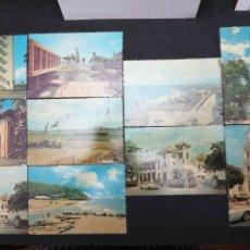 Postales: PUERTO RICO, LOTE DE 10 POSTALES DIFERENTES. Lote 199245638