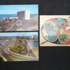 Postales: PUERTO RICO, LOTE DE 3 POSTSLES. Lote 199245792