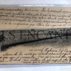 Cartoline: POSTAL CUBA CAMPO DE CAÑA DE AZUCAR . Lote 201754482