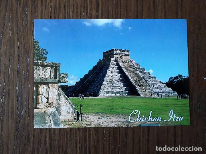Postal De Piramides De Chichen Itza Mexico Buy Old Postcards From America At Todocoleccion 202620188
