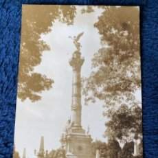 Postales: ANTIGUA POSTAL MEXICO MONUMENTO A LA INDEPENDENCIA. Lote 202742581