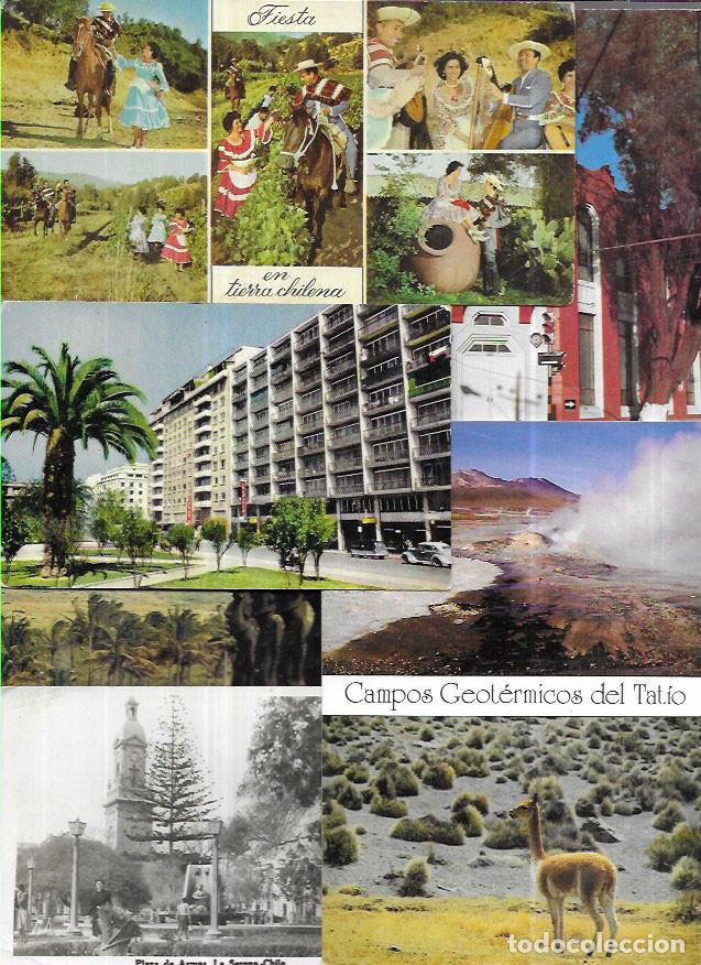 35 POSTALES * CHILE * ( LOTE Nº 15) (Postales - Postales Extranjero - América)