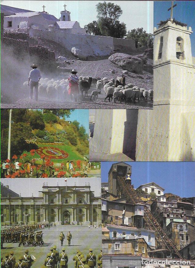 Postales: 35 POSTALES * CHILE * ( LOTE Nº 15) - Foto 3 - 203898388