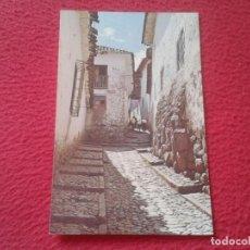 Postales: POST CARD PERÚ CALLE TÍPICA EN CUZCO CCOHUECALLE OLD INCA ALLEYS....BUILDINGS...STREET RUE CASAS..... Lote 204395403