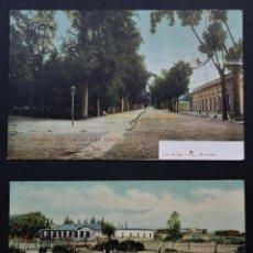 Postales: 2 POSTALES DE MENDOZA (ARGENTINA) DEL AÑO 1907 Y 1909, VER FOTOS Y COMENTARIOS. Lote 204442396
