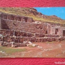 Postales: POSTAL POST CARD PERÚ SUDAMÉRICA TAMBOMACHAY CUZCO BAÑO INCAICO INCA´S BATH CULTURA INCA...VER FOTO.. Lote 204817405