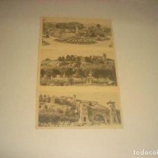 Postales: TANDIL, POSTAL CON 3 VISTAS DEL PARQUE. CIRCULADA . ARGENTINA. Lote 205148933
