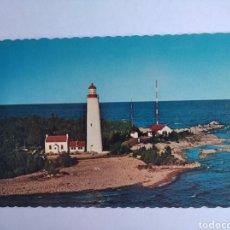 Postales: POSTAL CANADÁ ONTARIO COVE ISLAND LIGHT FARO. Lote 205269396