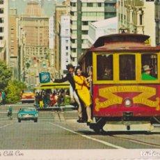 Cartes Postales: E.U.A. CALIFORNIA, SAN FRANCISCO, TRANVIA - DEXTER PRESS - S/C. Lote 206836146