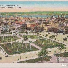 Postales: CUBA, HABANA, PLAZA DE LA FRATERNIDAD - 696 N - ESCRITA. Lote 206885707