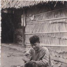 Postales: VENEZUELA PINTORESCA, INDIO MOTILÓN ARREGLANDO SUS FLECHAS - EDICIONES RIAN 121 - S/C. Lote 206900238