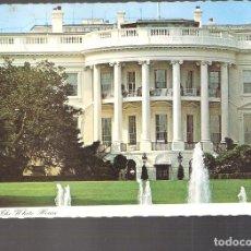Postales: THE WITE HOUSE. WASHINGTON. USA. LA CASA BLANCA . ESTADOS UNIDOS.STAMP. SELLO.. Lote 206913638