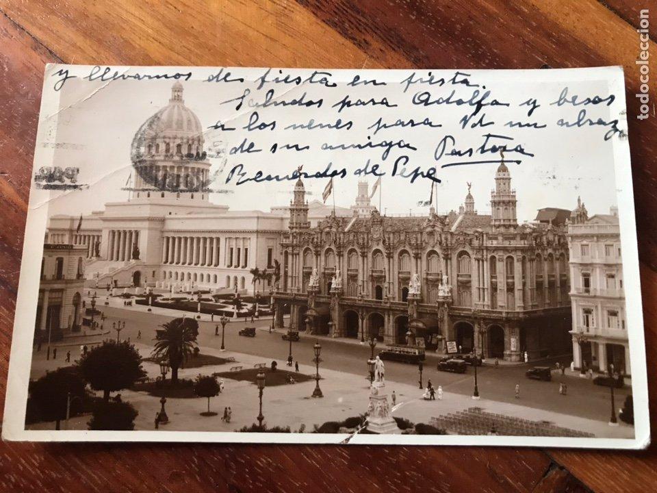 Postales: LOTE 3 POSTALES LA HABANA, CUBA. PASEO PRADO, IGLESIA ANGEL, PARQUE CENTRAL, CENTRO GALLEGO. - Foto 4 - 206956671