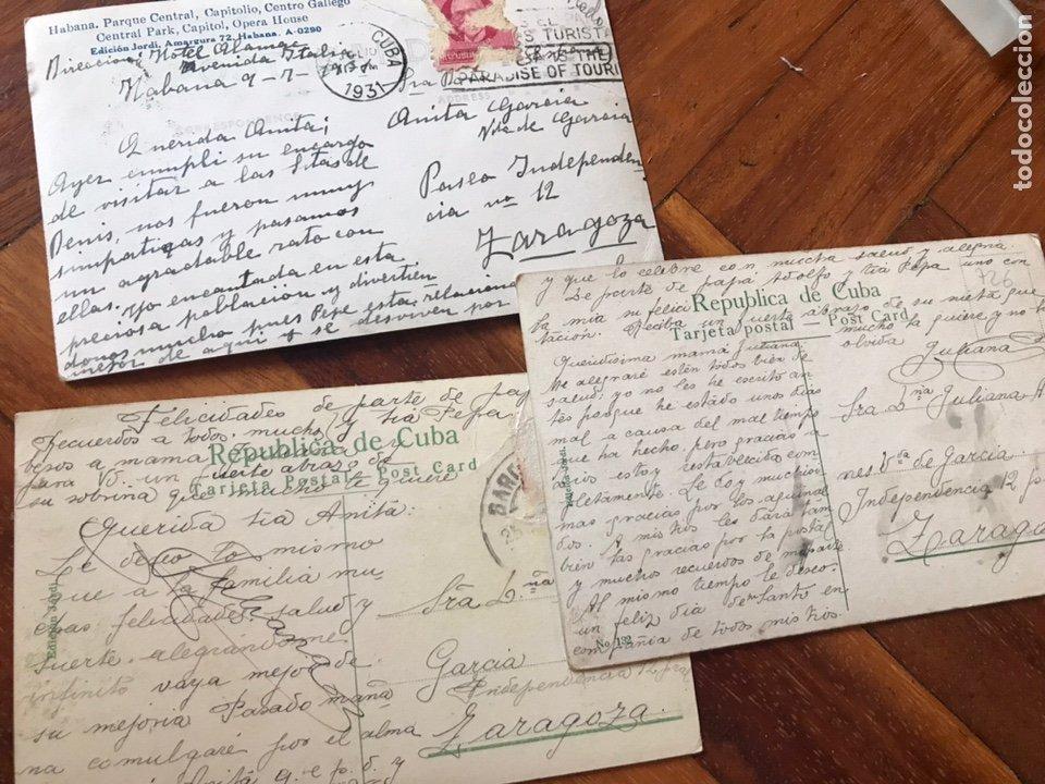 Postales: LOTE 3 POSTALES LA HABANA, CUBA. PASEO PRADO, IGLESIA ANGEL, PARQUE CENTRAL, CENTRO GALLEGO. - Foto 5 - 206956671