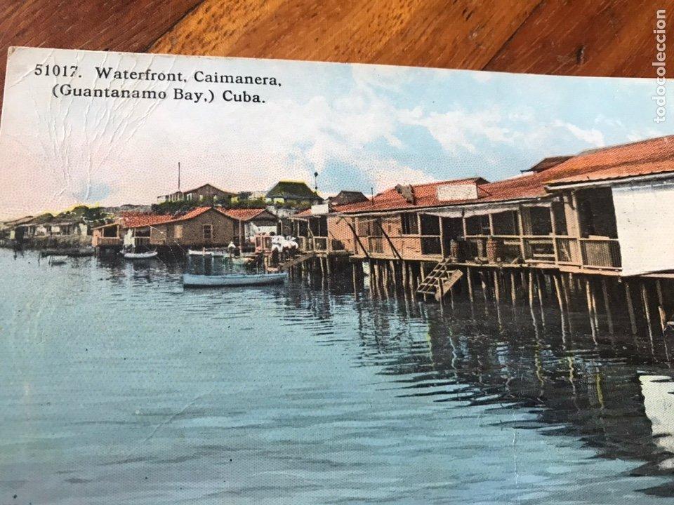 Postales: LOTE 2 POSTALES CUBA. ISLE OF PINES. CAIMANERA, GUANTÁNAMO. - Foto 3 - 206956856