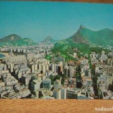 Postales: RIO DE JANEIRO , BRASIL - FRANQUEADA 1973. Lote 207026772