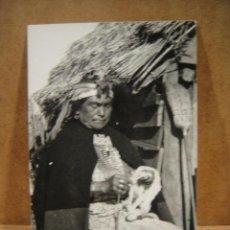 Postales: CHILE , MUJER ARAUCANA , - NO FRANQUEADA , FOTOGRAFICA. Lote 207027835