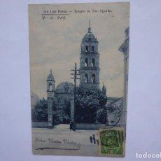 Postales: POSTAL CIRCULADA DE SAN LUIS DE POTOSI, MEXICO.1904. Lote 207060973