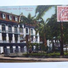 Postales: POSTAL DE PANAMA CIRCULADA GRAN HOTEL AÑO 1909. Lote 207061345