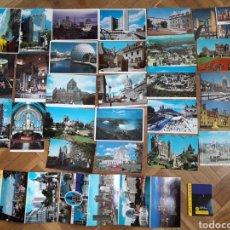 Postales: POSTALES CANADÁ ALGUNA CIRCULADA Y DOS LIBROS, UNO PEQUEÑO. Lote 207128668