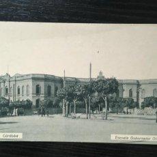 Postales: CÓRDOBA ARGENTINA POSTAL ESCUELA GOBERNADOR OLMOS. Lote 207132137