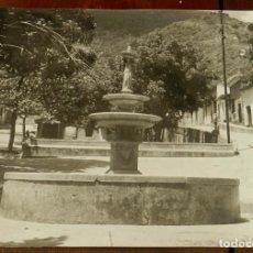Postales: FOTOGRAFIA DE VENEZUELA, FUENTE COLONIAL, MIDE 25 X 20 CMS.. Lote 210048592