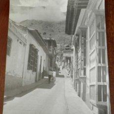 Postales: FOTOGRAFIA DE PUEBLO DE VENEZUELA, ESCRITA POR EL REVERSO. MIDE 25 X 20 CMS.. Lote 210049170