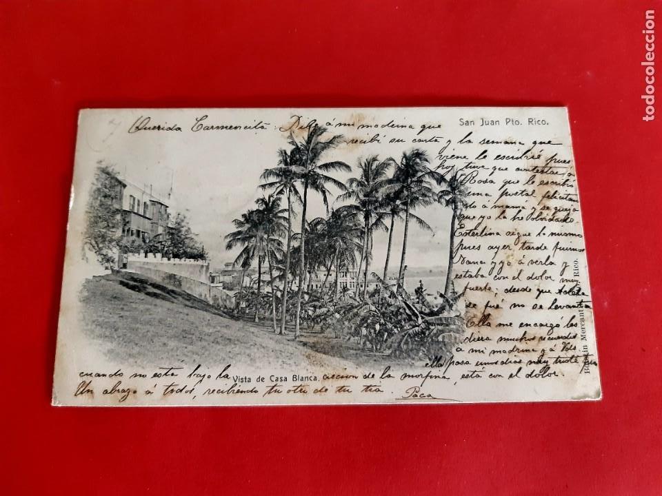 Postales: SAN JUAN DE PUERTO RICO-1905-CIRCULADA CON SELLO - Foto 2 - 210326840