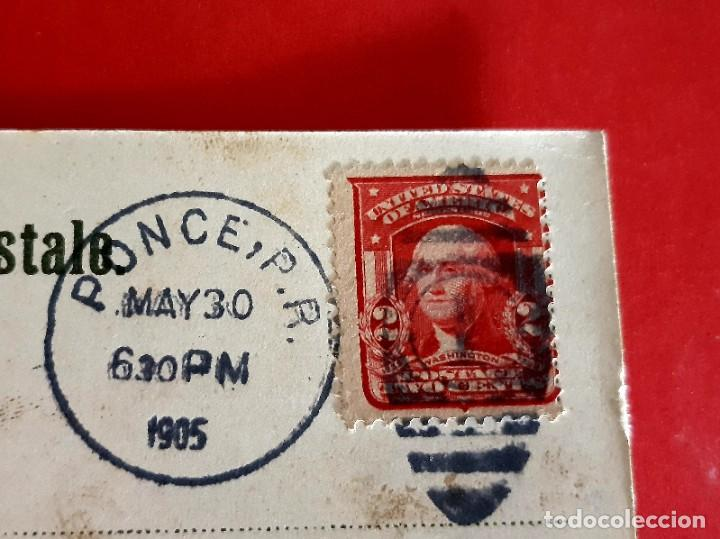 Postales: SAN JUAN DE PUERTO RICO-1905-CIRCULADA CON SELLO - Foto 3 - 210326840