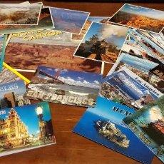 Postales: LOTE 61 POSTALES GRAN CAÑON CDEL COLORADO, LAS VEGAS, LOS ANGLES , SAN FRANCISCO. Lote 210941622