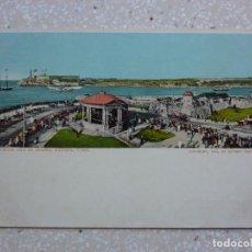 Postales: POSTAL CUBA - HABANA MALECÓN Y EL MORRO - 1904 BY DETROIT PHOTOGRAPHIC. Lote 211418084