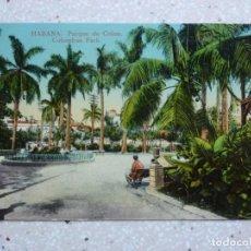 Postales: POSTAL CUBA - HABANA - PARQUE DE COLON - JORDI. Lote 211420729