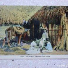 Postales: POSTAL CUBA - TIEMPO DE ALIMENTARSE LOS BEBÉS - THE BABIES FEEDING TIME - HARRIS BROS. Lote 211423917