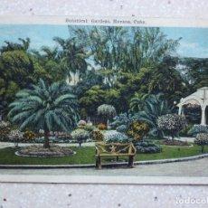Postales: POSTAL CUBA - HABANA JARDÍN BOTÁNICO - BOTANICAL GARDENS - KROPP - SELLO SIN SELLAR. Lote 211495495