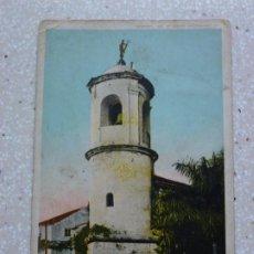 Postales: POSTAL CUBA - HABANA TORRE DEL CUARTEL DE LA FUERZA - DETROT PHOTOGRAPHIC - 1910. Lote 211497935