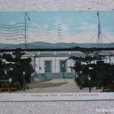 Postales: POSTAL CUBA - SANTIAGO DE CUBA GOBIERNO Y AYUNTAMIENTO - EDICIÓN ESPECIAL PARA EL LÁPIZ ROJO . 1915. Lote 211501654