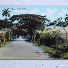 Postales: POSTAL CUBA - GÜINES CAMINO - HUGH C. LEIGHTON. Lote 211504514