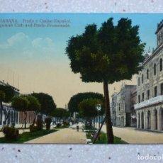 Postales: POSTAL CUBA - HABANA PASEO DEL PRADO Y CASINO ESPAÑOL - JORDI - 1914. Lote 211505072