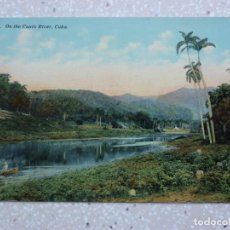 Postales: POSTAL CUBA - EN EL RÍO CAUTO - HARRIS. Lote 211505919