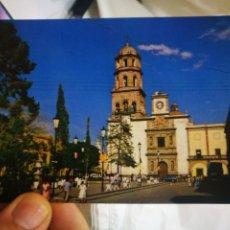 Cartes Postales: POSTAL MÉXICO JARDÍN OBREGÓN TEMPLO DE SAN FRANCISCO Y EL MUSEO REGIONAL DE QUERÉTARO S/C. Lote 214652390