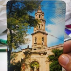 Cartes Postales: POSTAL MÉXICO LA FUENTE NEPTUNO Y LA IGLESIA DE SANTA CLARA S/C. Lote 214666916