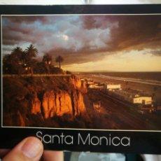 Cartes Postales: POSTAL SANTA MÓNICA COASTLUNE CLIFFS ESQUINAS PELÍN TOCADAS. Lote 214707718