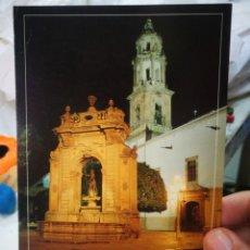 Cartes Postales: POSTAL MÉXICO QUERÉTARO LA FUENTE NEPTUNO Y LA IGLESIA DE SANTA CLARA UNA ESQUINA SUPERIOR ARRUGADA. Lote 214707936