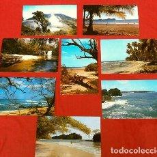 Postales: COSTA RICA C.A. (AÑOS 70) (LOTE 8 POSTALES ESCRITAS, CON SELLOS) QUEPOS, GUANACASTE - EUGENIO VARGAS. Lote 217171320