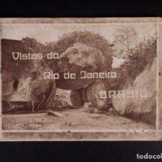 Postales: VISTAS DO RIO DE JANEIRO, BRASIL. Lote 217881356