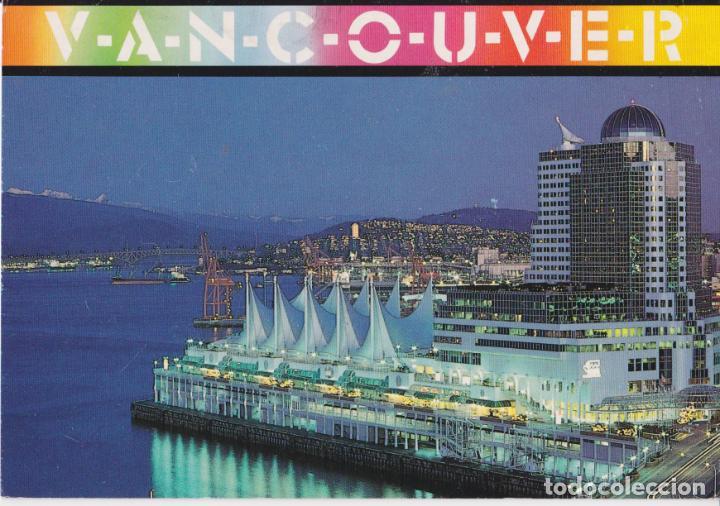 CANADA, VANCOUVER, HOTEL CANADA PLACE - BRELLA PRINTS - CIRCULADA (Postales - Postales Extranjero - América)