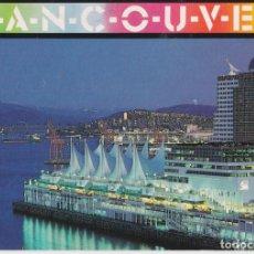 Postales: CANADA, VANCOUVER, HOTEL CANADA PLACE - BRELLA PRINTS - CIRCULADA. Lote 219087986